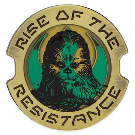 Chewbacca Rise of the Resistance Star Wars Galaxy's Edge Pin