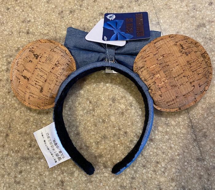 Disney Pin Trading Cork Minnie Ear Headband - Back
