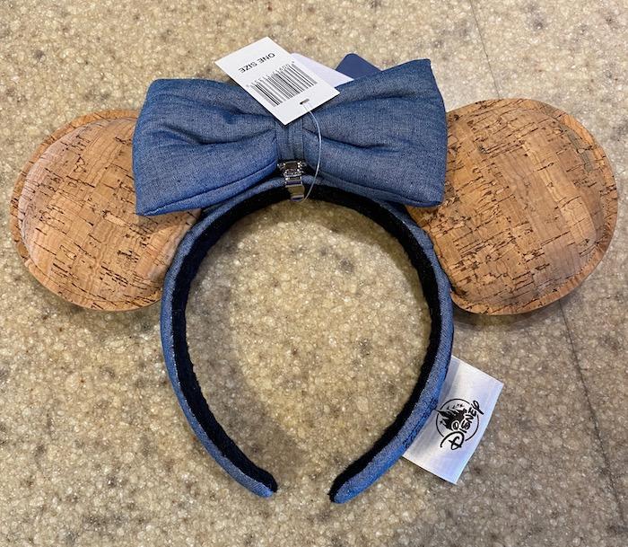 Disney Pin Trading Cork Minnie Ear Headband - Front