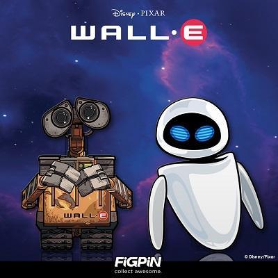 Disney Pixar WALL-E FiGPiNs