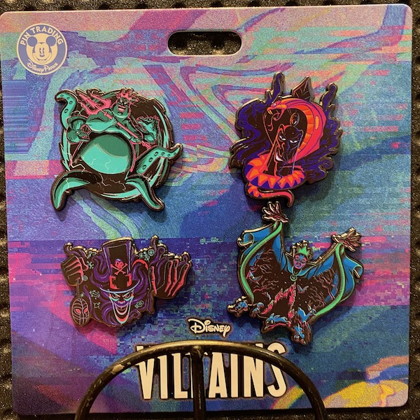 Disney Villains Booster Pin Set