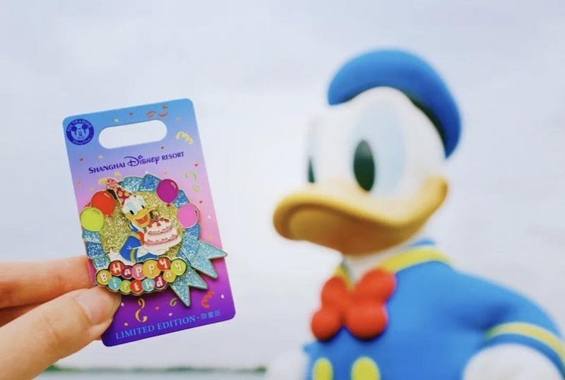 Donald Duck Birthday 2020 Shanghai Disneyland Pin