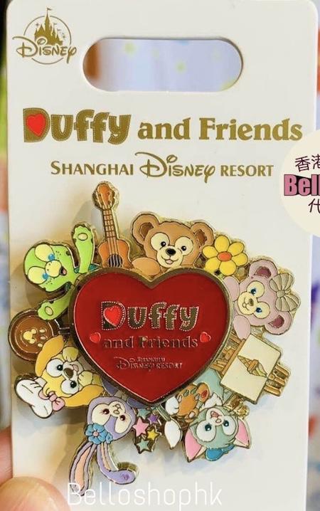 Duffy and Friends Olu Shanghai Disney Pin