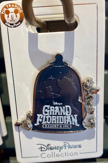 Grand Floridian Resort Beauty and the Beast Disney Pin