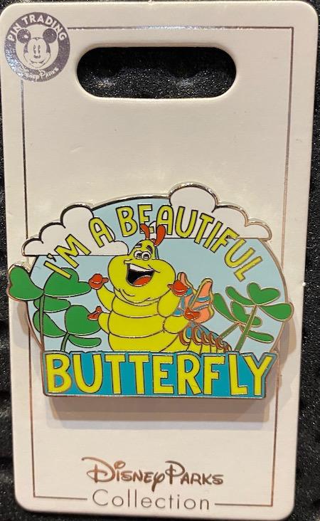 Heimlich as Butterfly Disney Pin