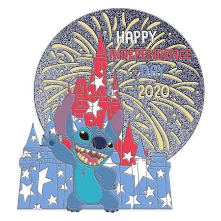 Independence Day 2020 Disney Pin