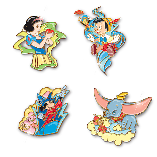 Issue 1 Ultimate Disney Puzzle Pin Set