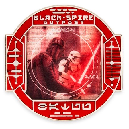 Kylo Ren First Order Star Wars Galaxy's Edge Pin