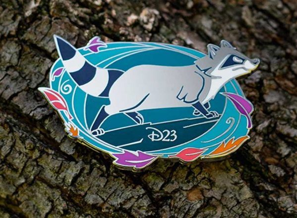 Meeko D23 Pocahontas 25th Anniversary Pin