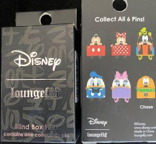 Mickey & Friends Blind Box Loungefly Disney Pins