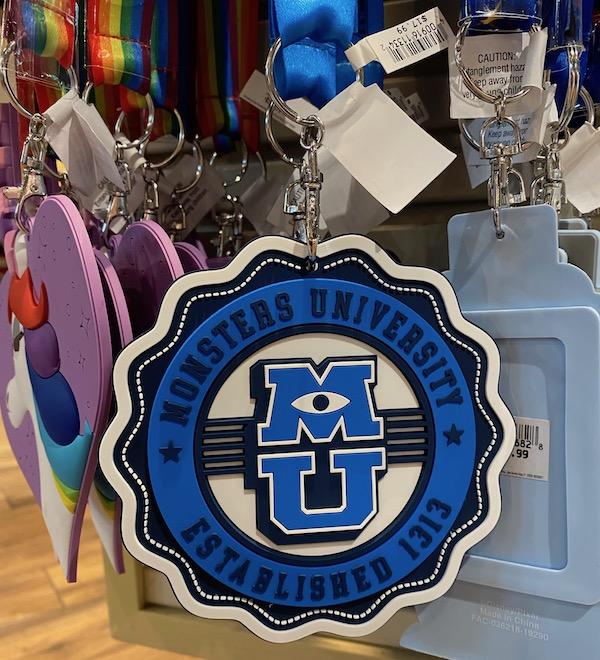 Monsters University Card Holder Lanyard