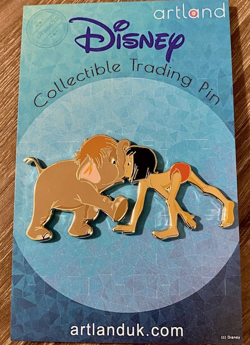 Mowgli & Hathi Jr The Jungle Book ArtLand Pin