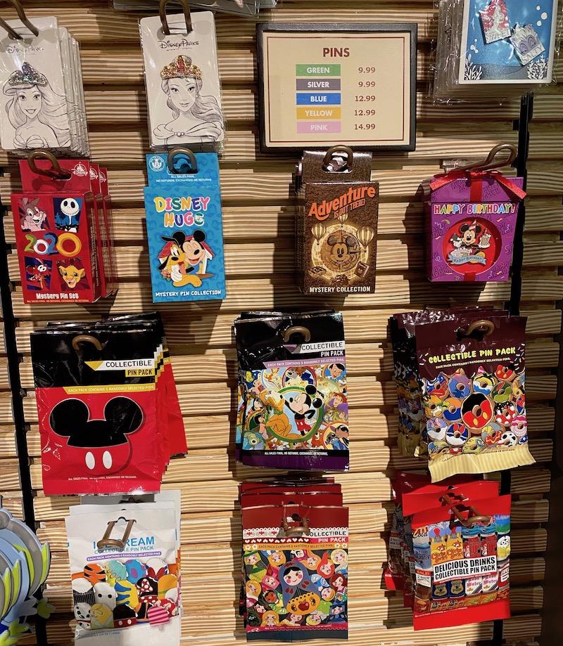 Mystery Pins - Disney's Vero Beach Resort June 2020