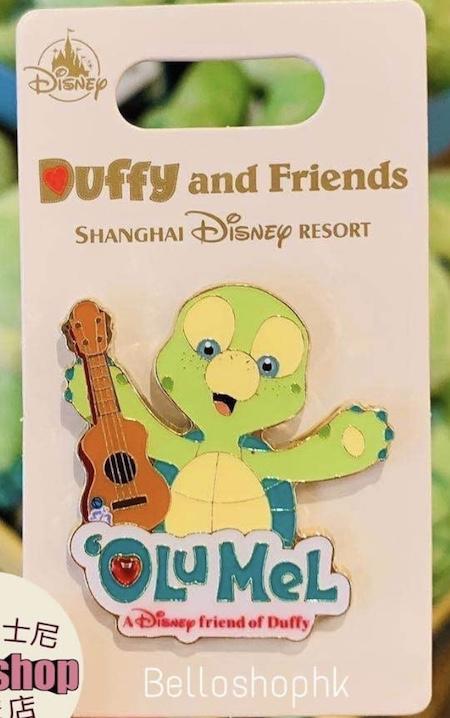 Olu Mel Shanghai Disney Pin