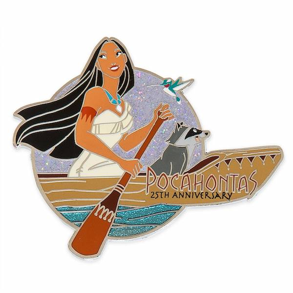 Pocahontas 25th Anniversary Limited Release Pin