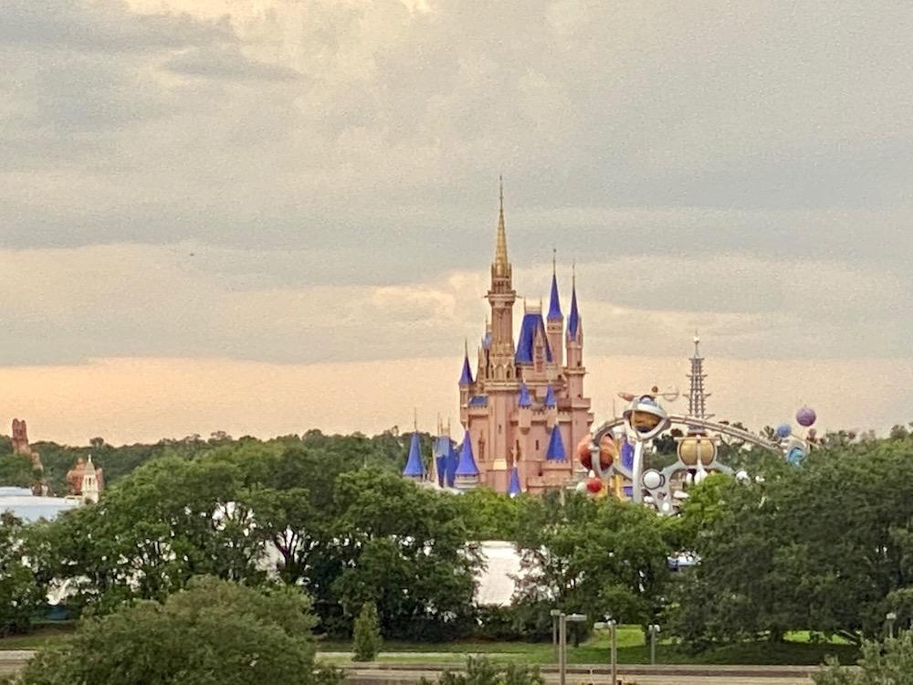 Rose Gold 50th Cinderella Castle