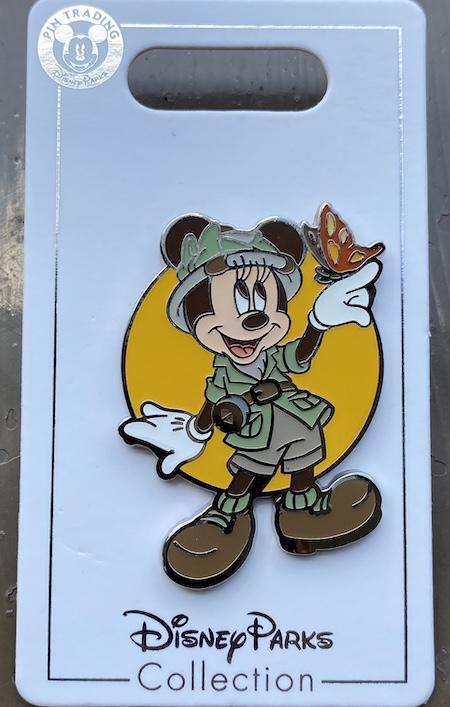 Safari Minnie Mouse Disney Pin