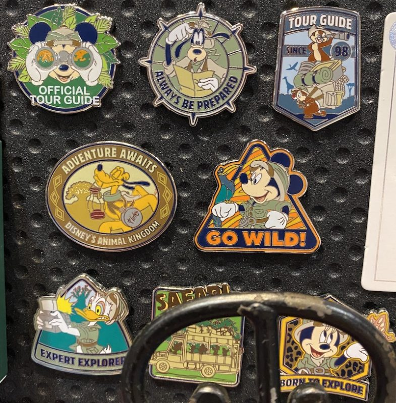 Safari Mystery Disney Pins