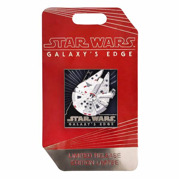 Star Wars Galaxy's Edge Millennium Falcon Pin Limited Release Disney Pin