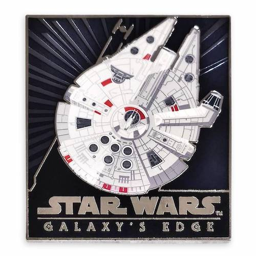Star Wars Galaxy's Edge Millennium Falcon Pin Limited Release Pin