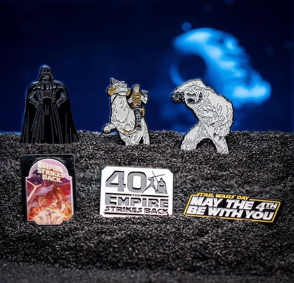 Star Wars The Empire Strikes Back 40th Anniversary Pin Set on Amazon