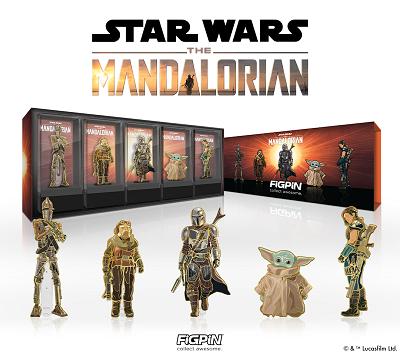 Star Wars The Mandalorian FiGPiN Deluxe Box Set