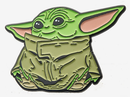 The Child Sitting BoxLunch Star Wars Pin