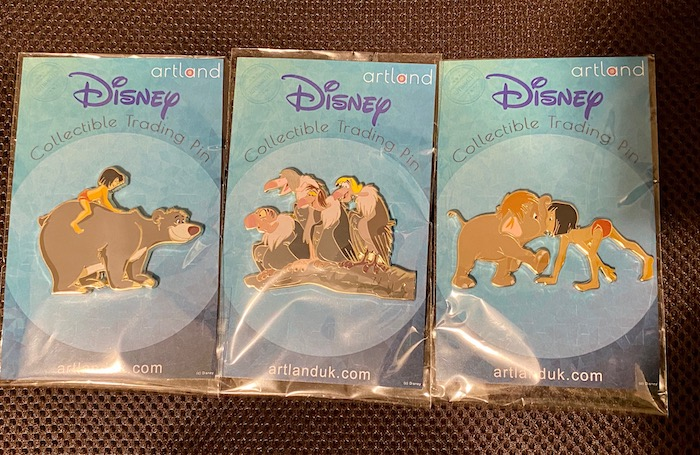 The Jungle Book ArtLand Pins