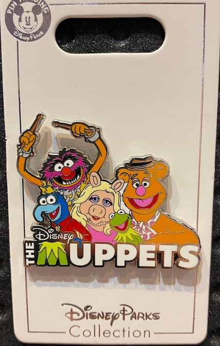 The Muppets Disney Pin