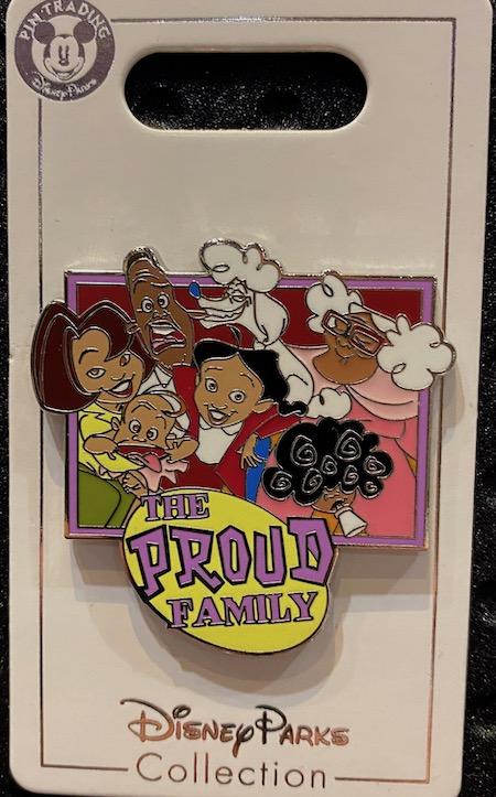 The Proud Family Disney Pin