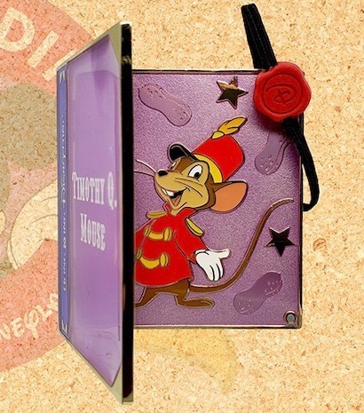 Timothy Mouse LE 250 Mini Jumbo HKDL Pin