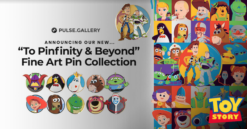 To Pinfinity & Beyond Fine Art Pin Collection