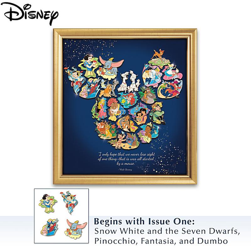 Ultimate Disney Puzzle Pins at Bradford Exchange