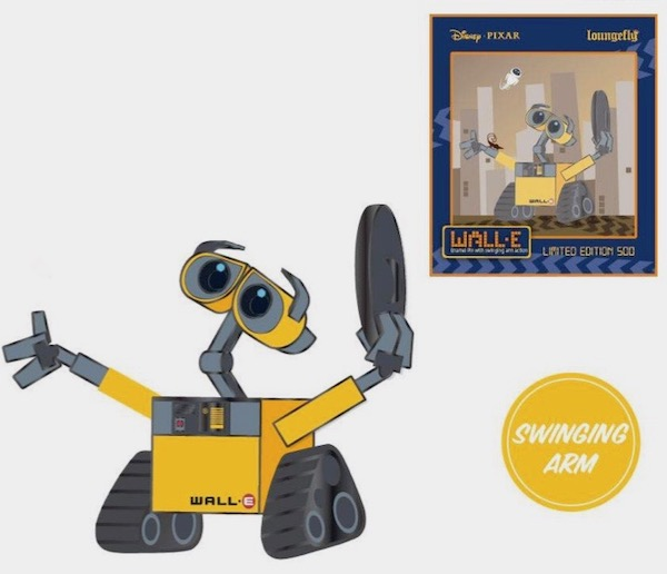 WALL-E Limited Edition Loungefly Disney Pin