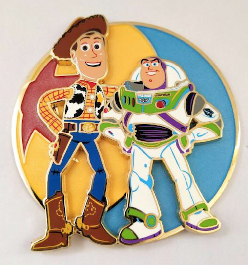 Woody and Buzz Toy Story LE 125 Pin