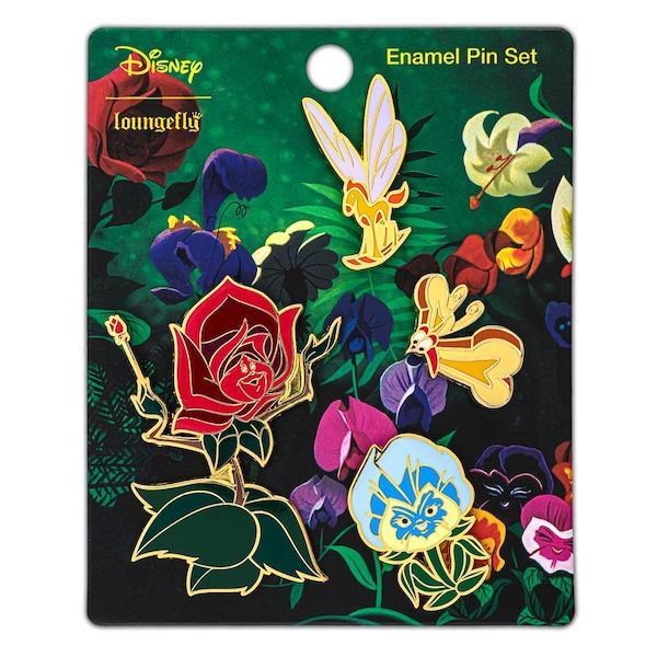 Alice in Wonderland Loungefly Disney Pin Set