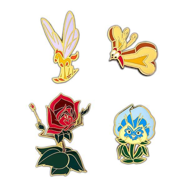 Alice in Wonderland Loungefly Disney Pins