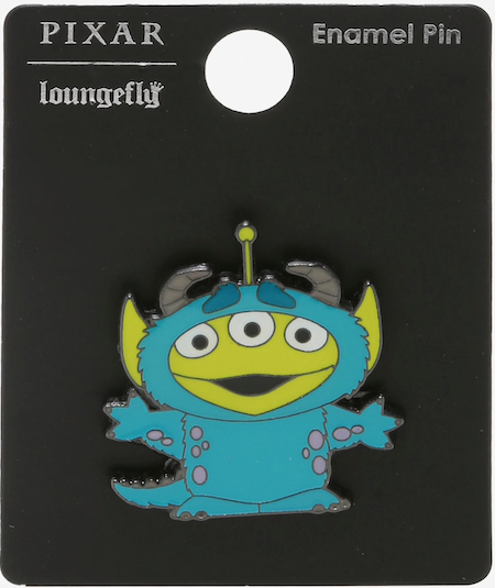 Alien as Sulley Toy Story BoxLunch Pin
