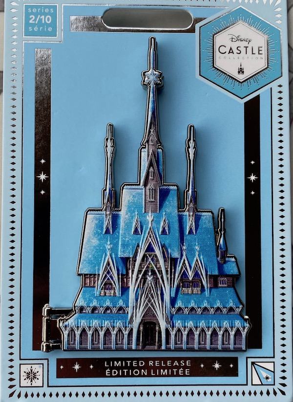 Disney Castle Collection 2//10 Limited Release Frozen Jumbo Pin SHIPS TODAY