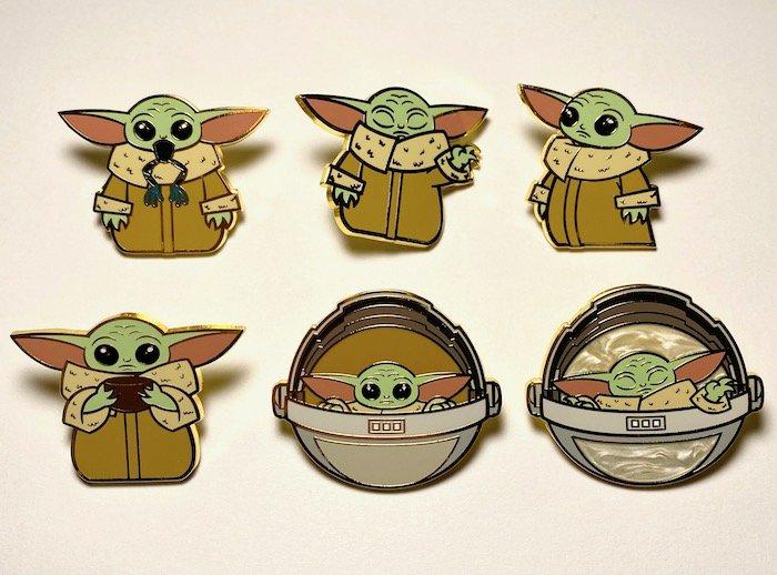 Baby Yoda Loungefly Star Wars Pins