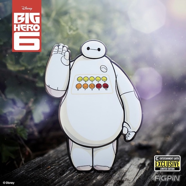 Baymax FiGPiN XL Entertainment Earth Exclusive Pin