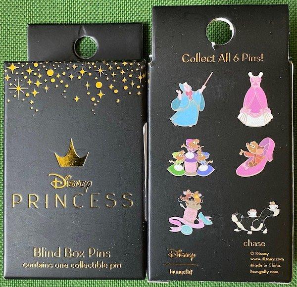 Cinderella 70th Anniversary Blind Box Loungefly Disney Pins