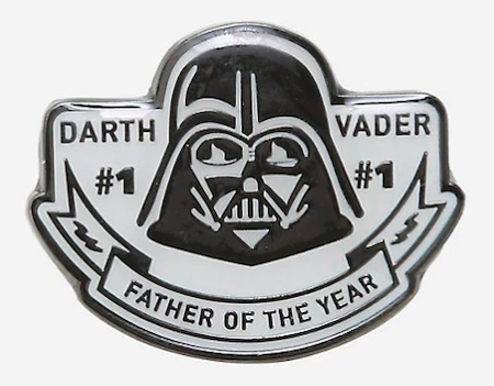 Darth Vader Father of the Year BoxLunch Star Wars Pin
