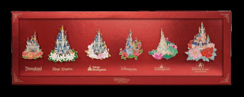Disney Castles Pin Set - Pin Trading Fun Day 2020