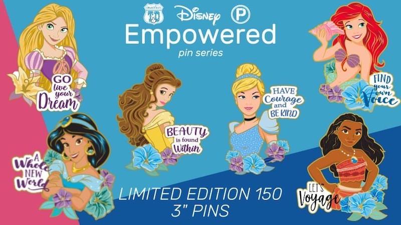 Disney Empowered ArtLand Pin Series