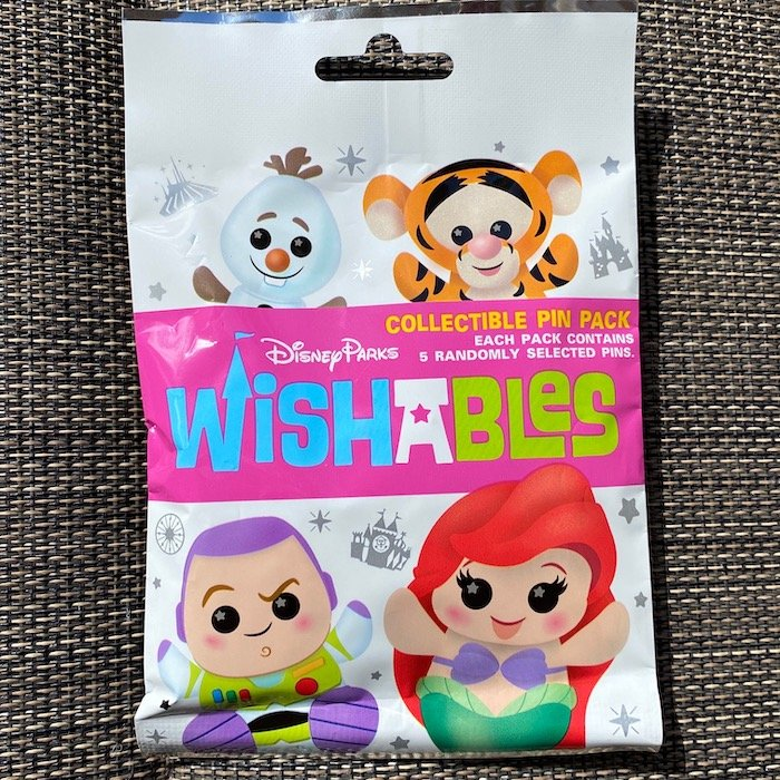 Disney Parks Wishables Collectible Pin Pack