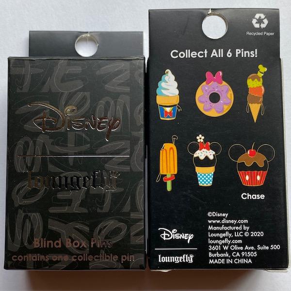 Disney Sensational 6 Snacks Blind Box Loungefly Pins
