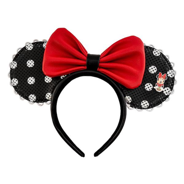 Disney X Loungefly Minnie Mouse Polka Dot Pin Trader Ears