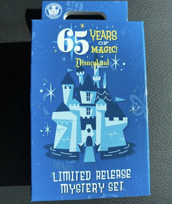 Disneyland 65th Anniversary Limited Release Mystery Pin Set