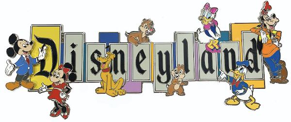 Disneyland 65th Anniversary Marquee Jumbo Pin